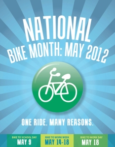National Bike Month is May 2012