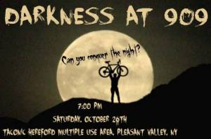 Darkness @ 909 Night Mountain Bike Race