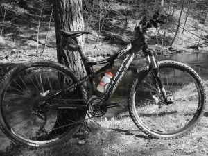 Cannondale Scalpel 4 with Hammer Nutrition, Duro Tire Rudy Project, AXO Racing